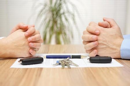 partager les biens dans un divorce